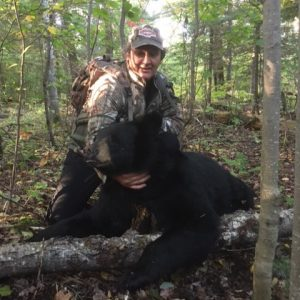**Bernie Manners -- WI Black Bear -- Date: 9/14/19 -- Weight: 210lbs *Shot at the Merkes Mile*